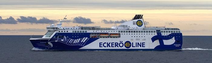 30% av färjor mellan Finland och Estland denna sommar